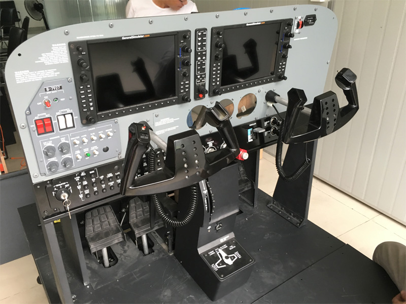 Most Realistic Cessna172 Aatd Simulator Delivered Product